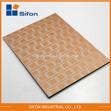 Alibaba China Supplier 4Mm Wall Cladding Metal Aluminium Composite Material Panels