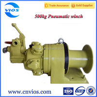 500kg air winch used for mining/ship/boat with high quality