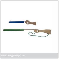 Gun Toy ,baby Toy Natural Wooden Gun