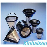 Coffee filters direct aluminium water filter with factory price