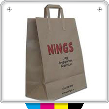 promotional art paper carrier paper bag for charcoal