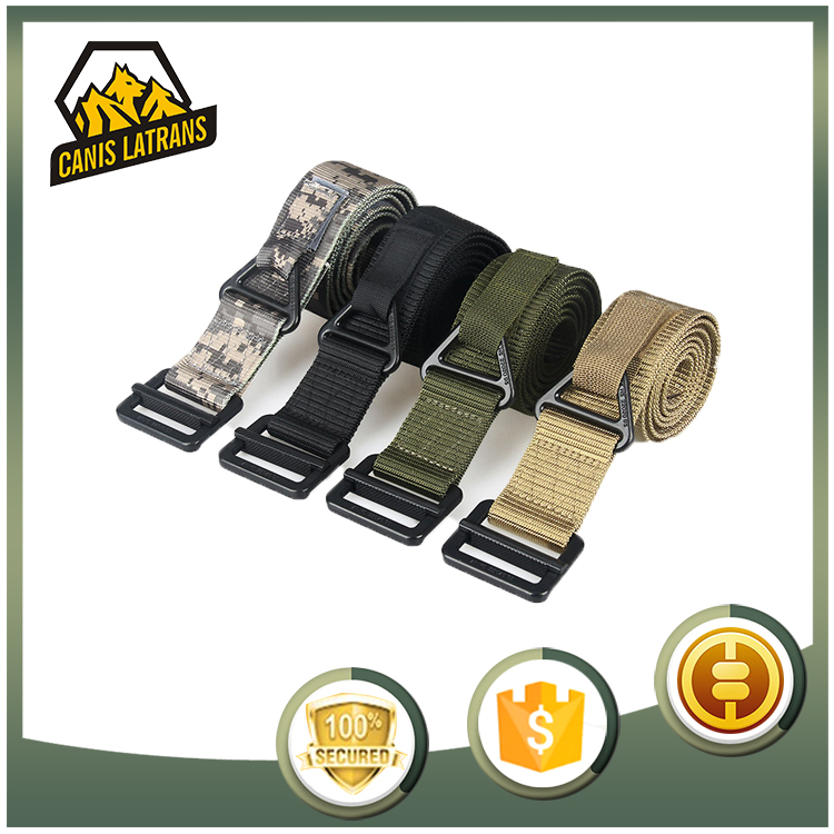 Factory Direct Police Equipment Security Duty Men Uniforms Military Webbing Belt