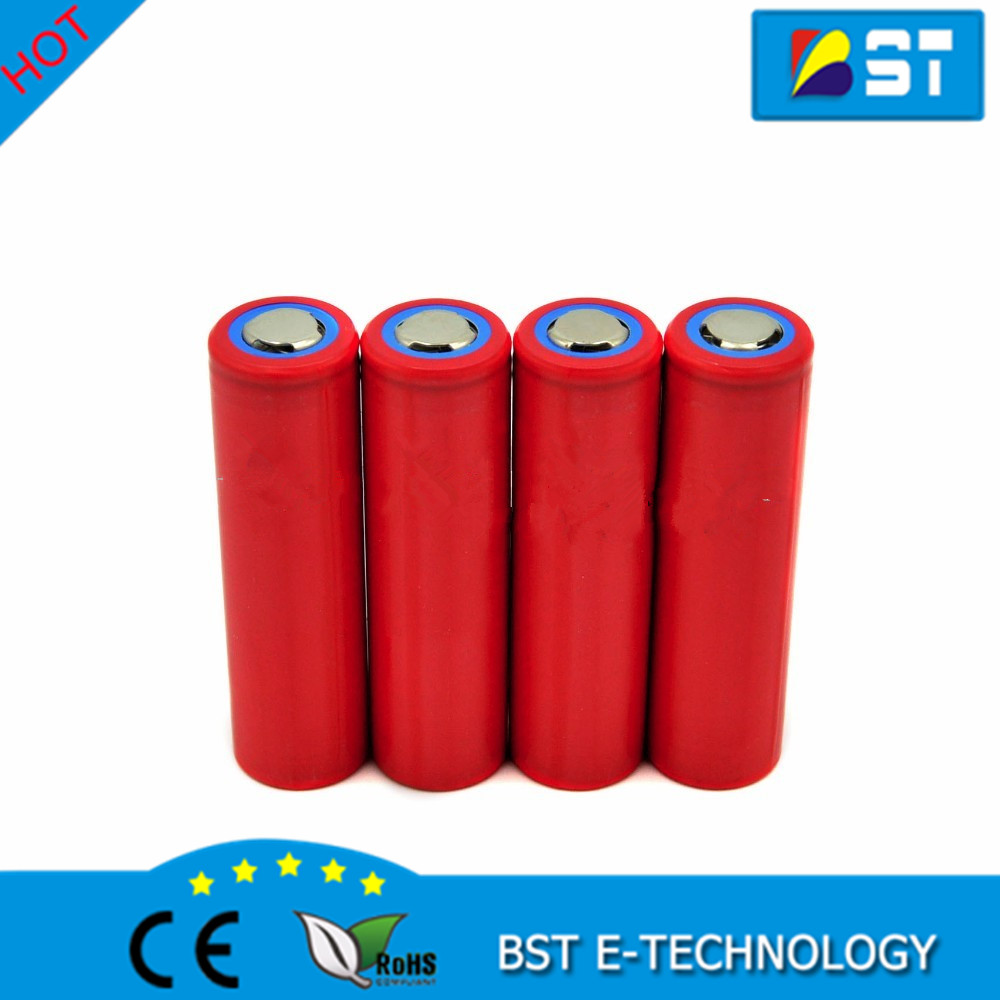 High capacity 3500mAh Sanyo 18650 3.7V rechargeable lithium flashlight NCR18650GA 10A