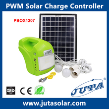 12V 4.5Ah Portable Solar power Lighting System with panel for home use