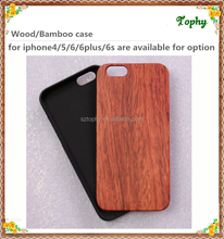 Unique design real wooden veneer phone case for iphone 6 and iphone 6s rose wooden
