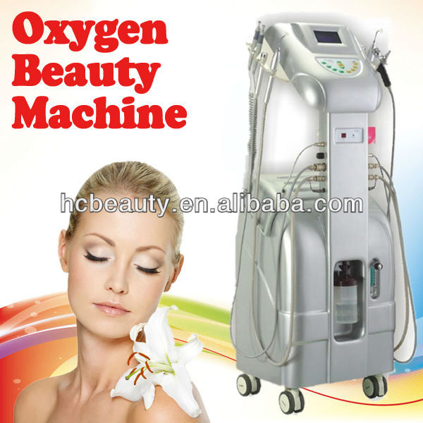 2013 Hot sell salon/spa use oxygen skin tighteing and face beauty equipment