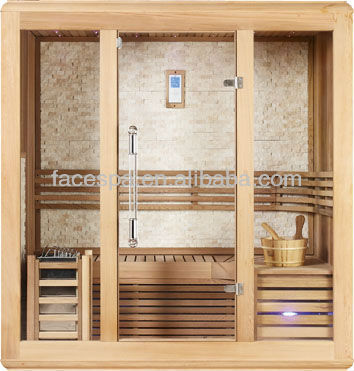 Sauna room infrared/stove/mica board,with thermometer and hourglass,FS-1223A(CE certificate)