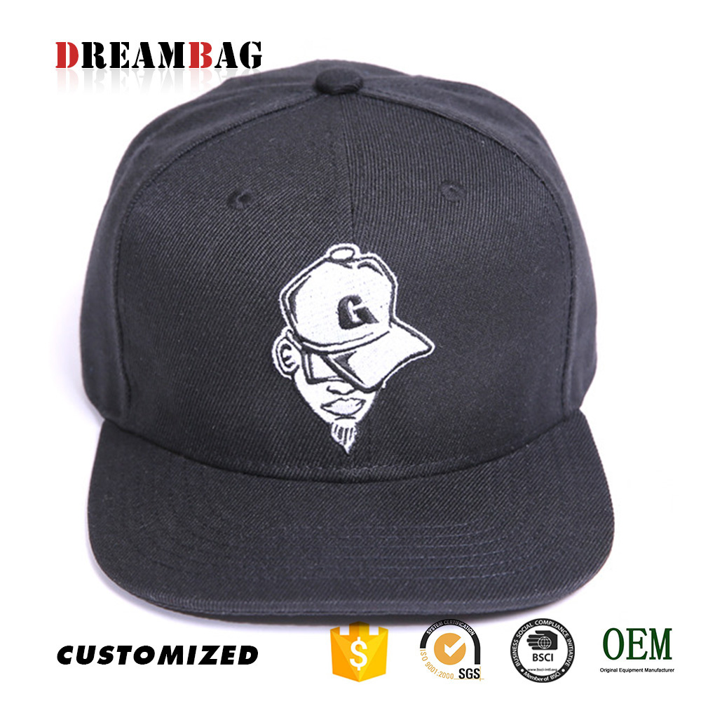 GZ simple OEM 2D 3D Printed Embroidery types of hats pictures