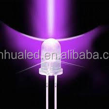 5mm uv led 395nm dip lamp 395nm-400nm high quality