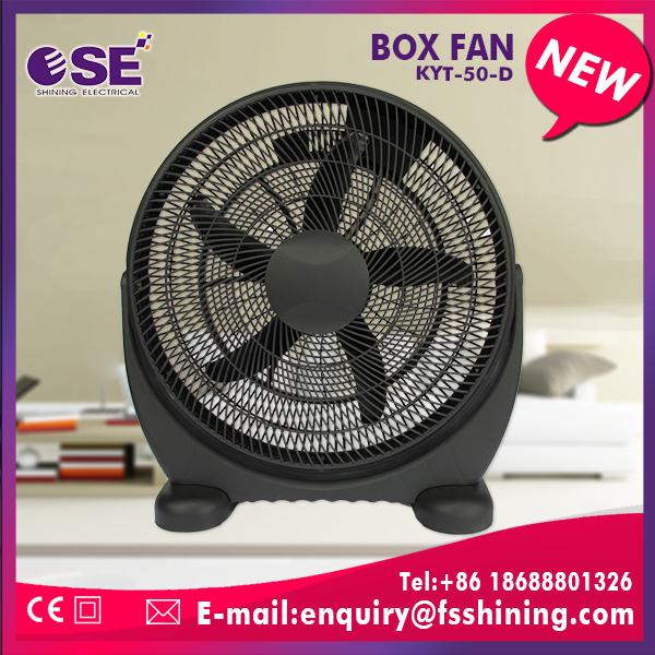 20'' appliance industrial box fans 3 speed choices with timer