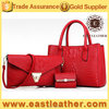 E1371 no minimum order stylish woman 3 in 1 set bulk wholesale handbags