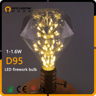 Professional Manufacturer 1.5W 1.8W Firework D95 Alibaba Express Wholesale Led Bulb