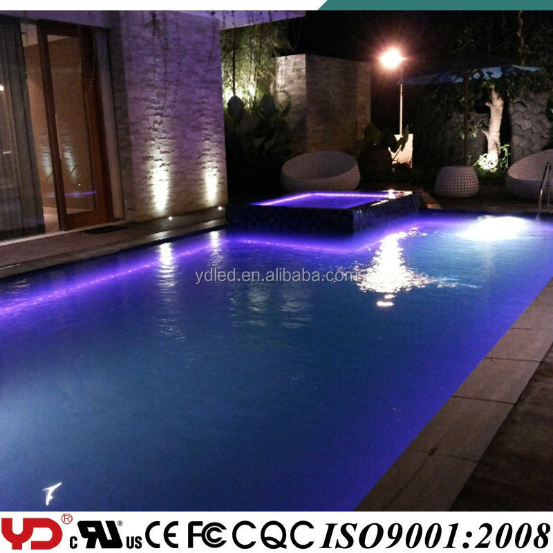 IP68 waterproof swimming pool lights LED point light source rgb full color 5050 smd led type