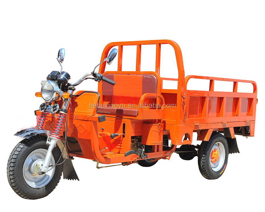 110CC motor tricycle/gasoline tricycle/heighten the bucket tricycle