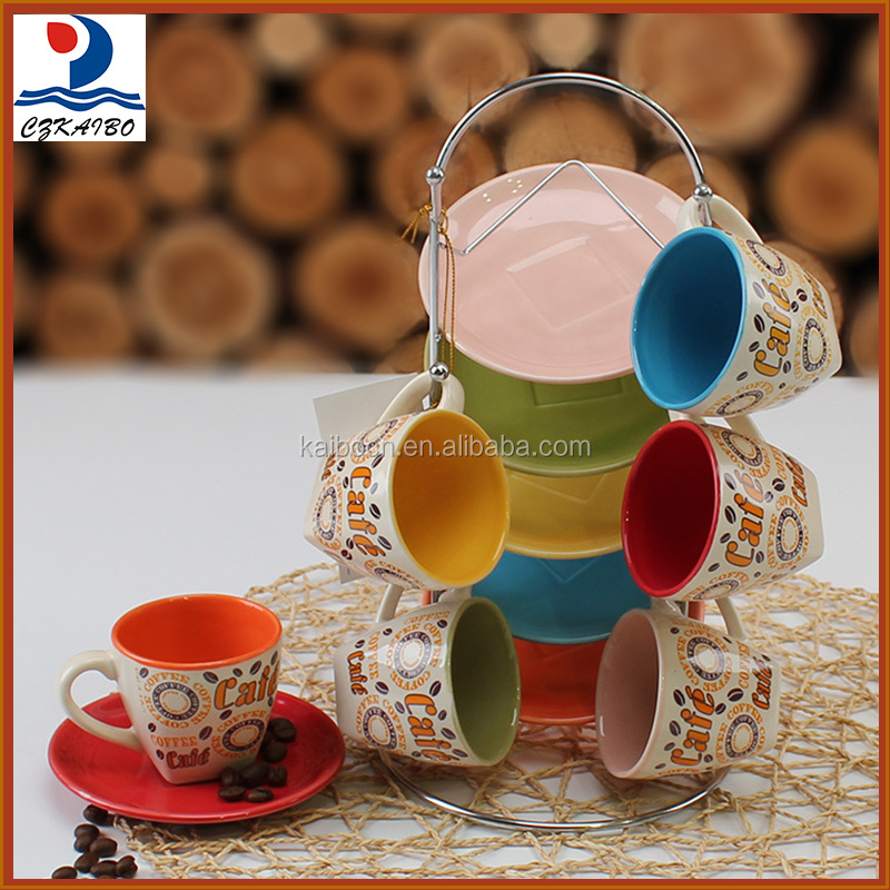 Most popular low price porcelain tea cup set for home and party