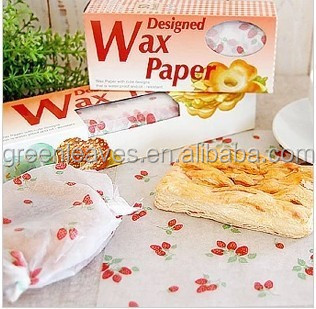 Food Grade Waxed Paper Burger Packing/Burger Wrap/Burger Pape
