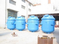 efficient electricity Steam Heating Glass Lined steel tank Reactor made in china