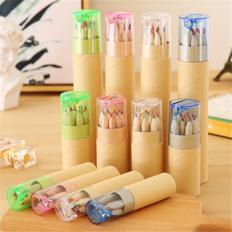 cheap wholesale children colored pencil hot sale OEM color pencil