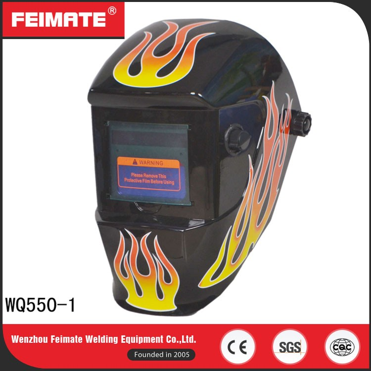 FEIMATE High Quality 1/25000s DIN4 Kids Hard Hat Welding Helmet For Sale
