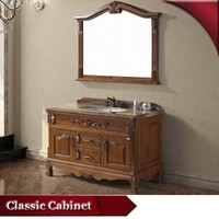 HS-A818 french antique hand carved chinese bathroom vanity