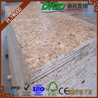 Hardwood core OSB 3 for wooden house