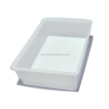 isolated ice cold fish storage box/ salted seafood container