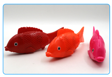 cheap price kids toy flash electric fish toy
