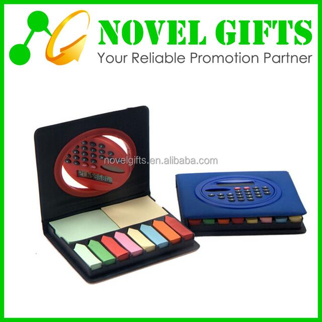 Custom Solar Calculator with Memo Pad Notebook