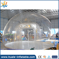 Outdoor inflatable transparent bubble tent , inflatable bubble tent for rent