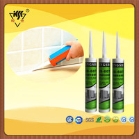 Colors Waterproof Acetoxy Silicone Sealant For Tile Caulking