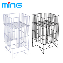 Supermarket Retail Metal Wire Display Dump Bin