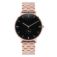 OEM Stainless Steel Case Sapphire Glass IP Plating Water Resistant Fashion Wrist Watches Men Women With Factory Price