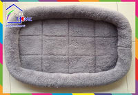 Padded reversible oval shape pet cat bed