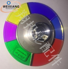 Projector Replacement Color Wheel for Mitsubishi WD-73733/WD-73734/WD-65833 Projector TV Color Wheel,6 segments 55mm