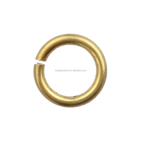 High quality Jewelry findings components Wholesale China brass open jump rings for jewelry connecting