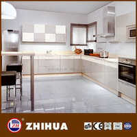 white melamine particle board kitchen cabinet