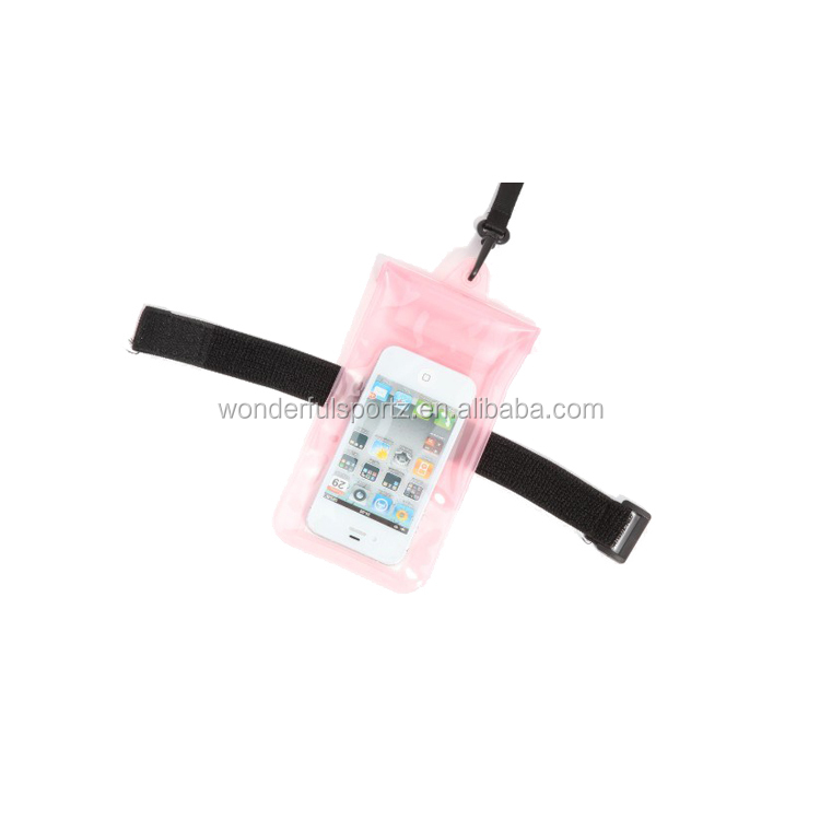 "New Products! Mobile Phone Waterproof Bag For ""3.5-5.8 ""inch Smartphone"