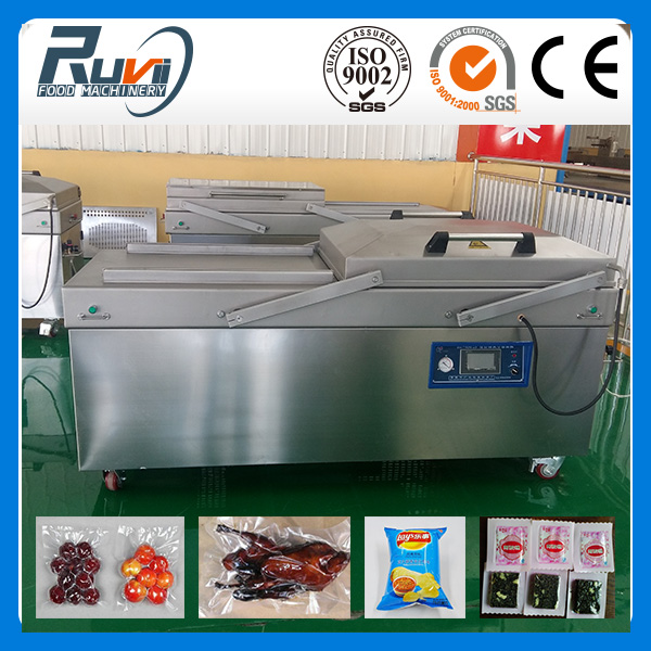 Double Chamber Vacuum packaging machine RV-800/2S for peanut, pork,beef,sea food,tuna fish