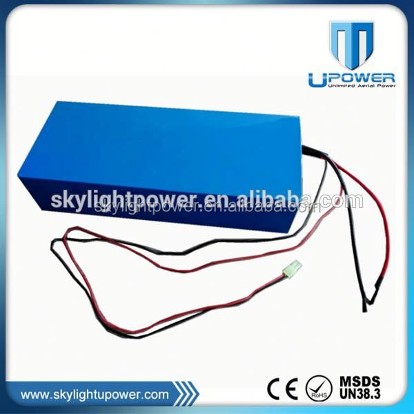 Upower 12v 24v 48v 400ah nife battery with high quality 18650 cell