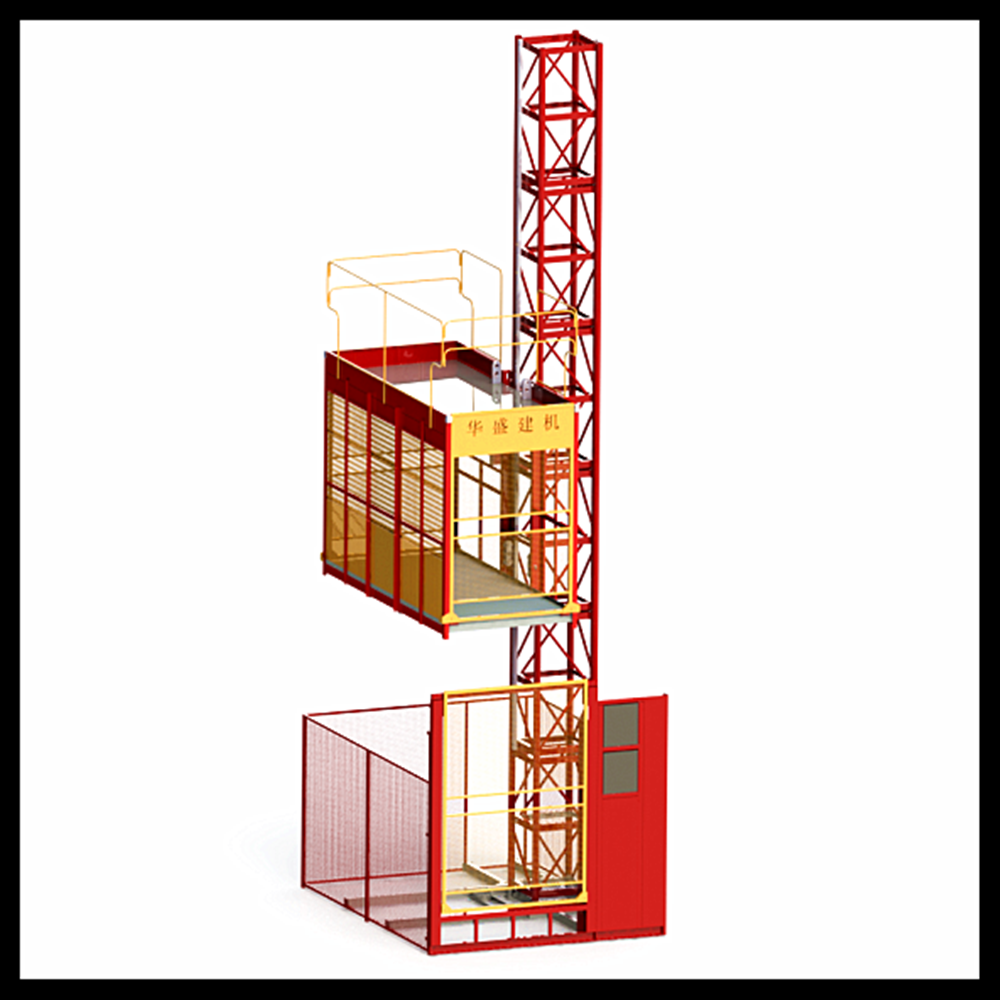 Best selling temporary elevator SC100 building construction lift