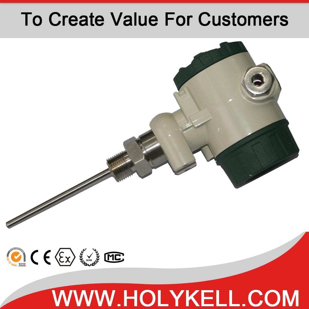High Performance k Type Pt100 Temperature Thermocouple Transmitter
