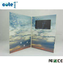 "The beautiful products!!! 4.3 -7"" lcd vedio greeting cards/tft screen video brochure, china market of electronic"