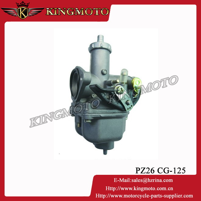 Chinese made high quality hot sale used PZ26 CG125 motorcycle carburetor