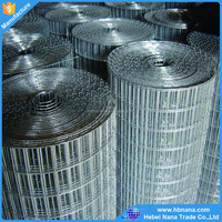 Corrosion resistance firm low price galvanized welded wire mesh / galvanized welded wire mesh