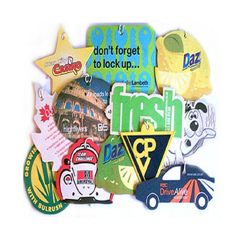 2017 car hanging air /cheap car air freshener/logo printing car air freshener