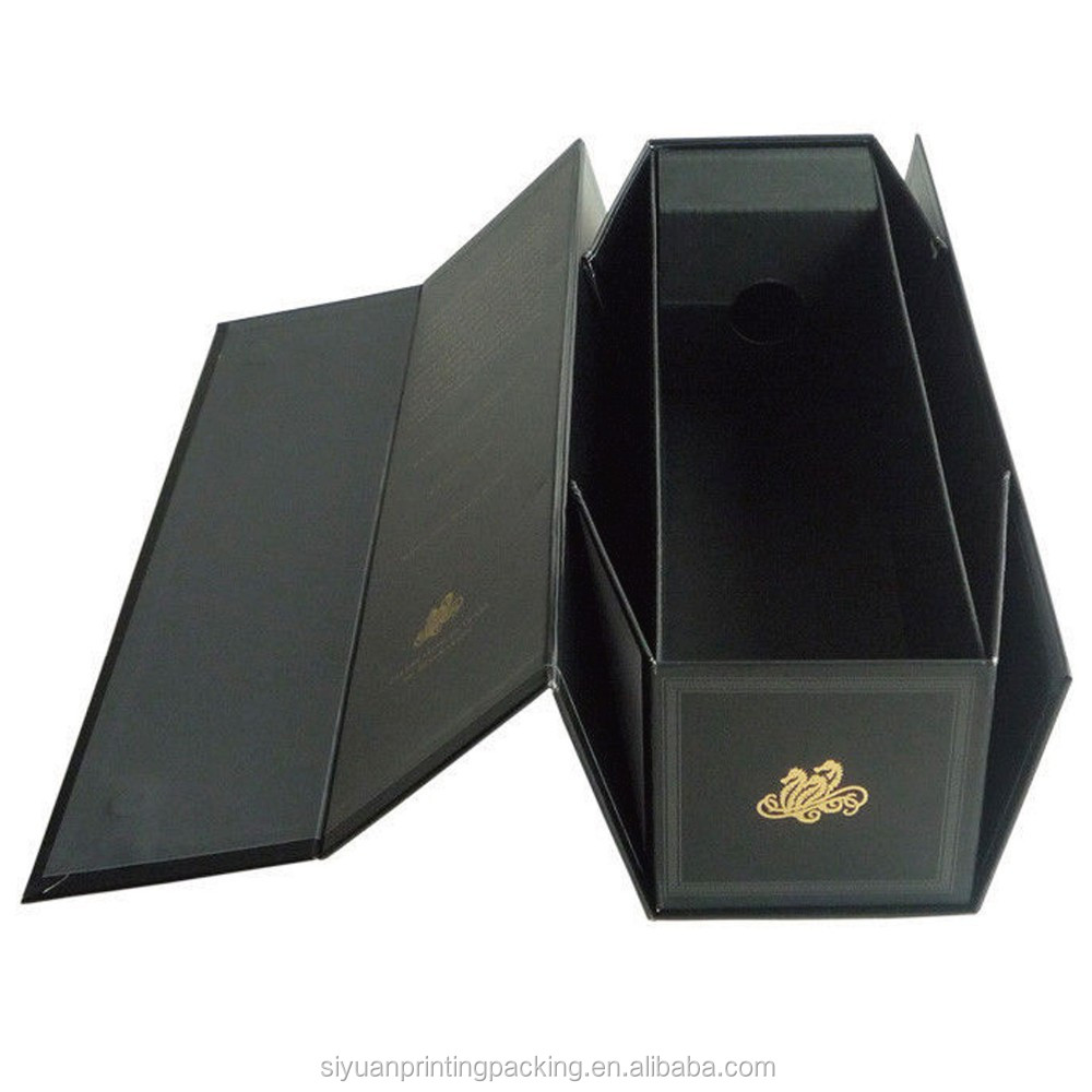 luxury foldable cardboard wine boxes with cheap price