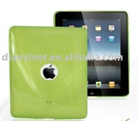 2011 HOT For iPad TPU case cover for iPad Skin case soft jacket notebook case laptop skin