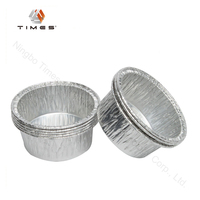 Aluminium Foil Soup Cup Round Container with lid