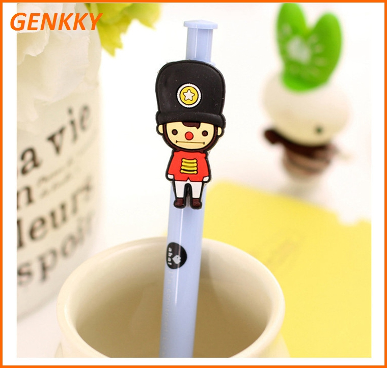 Funny character pen plastic ball pen with good quality