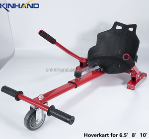 Factory wholesale 2 wheel hoverboard hoverkart cart to racing go karting